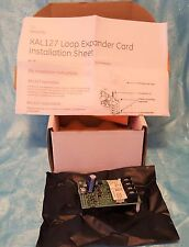 Edwards Security XAL127 Expansion Analog Loop Expander Card 127 pt ~ New