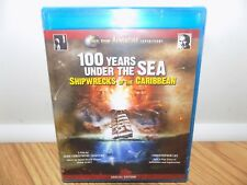 100 Years Under the Sea: Shipwrecks of the Caribbean Blu-ray Disc 2009 BRAND NEW