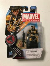 "Marvel Universe 3.75"" Series 2 #027 Team X Wolverine X-Men Hasbro MOC"