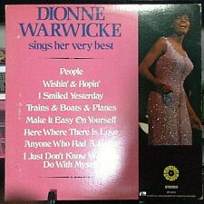 DIONNE WARWICK Sings Her Very Best Released 1971 Vinyl/Record Collection US pres