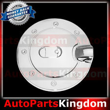 Triple Chrome Plated ABS Fuel Gas Tank Cap Door Cover for 05-09 Ford Mustang