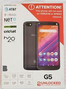 [NEW, SEALED] BLU G5 UNLOCKED ANDROID SMARTPHONE  32GB MEMORY 2GB RAM 5.5'' 4G