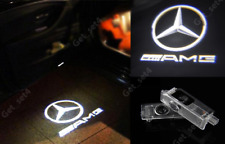 2x MERCEDES BENZ CREE LASER SHADOW COURTESY DOOR PUDDLE LOGO PROJECTOR LIGHT LED