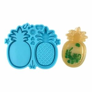 Tropic Structure Quicksand Silicone Mold Pineapple Game Shaker Resin Craft Tools