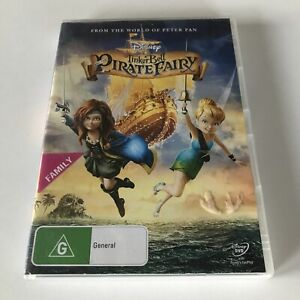 Tinker Bell And The Pirate Fairy EX RENTAL DVD Disney