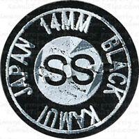 KAMUI BLACK SUPER SOFT LAMINATED LAYERED LEATHER Pool Cue Billiard Tips SS