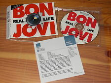 BON JOVI - REAL LIFE / 3 TRACK MAXI-CD 1999 MINT- & INFO-FACTS