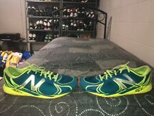 New Balance RC1400v3 Mens Running Training Shoes Size 13 Blue Neon Green Gray