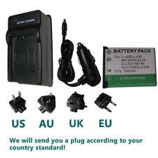 Battery + Charger for Fujifilm FinePix JX550 JX560 JX580 JX590 Digital Camera