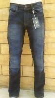 Men's Jeans - Oscar  - Straight Original Fit - Dark Blue Shade