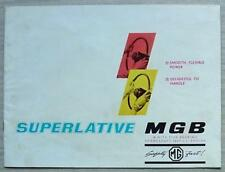 MG MGB Car Sales Brochure 1964-65 #H&E 6473