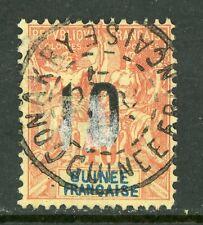 Guinee 1912 French Colony Guinea 10¢/40¢ Scott #54 VFU H877