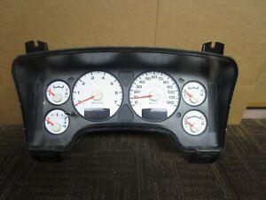 04 05 2004 Dodge Ram 1500 Speedometer Instrument Cluster 201k Miles 56051101