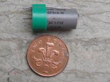 NOS TCC Metamold 0.5µF 250V, 0.5uF 250V, Capacitor Valve Audio Amp.  1960's-70's