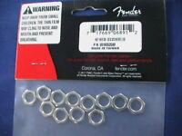 FENDER POTENTIOMETER HEX NUTS (12PCS) PN 001-6352-049 NEW!!