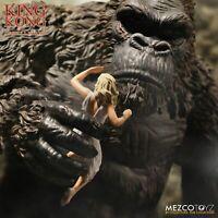 """MEZCO King Kong of Skull Island 7"""" Action Figure"""