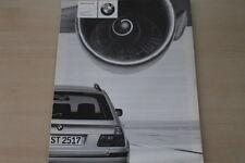 173354) BMW 3er Reihe E46 Touring - Preise & Extras - Prospekt 09/2000