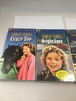 Shirley Temple VHS Movies  4 Total All Sealed