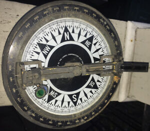 ca.1943 Pelorus & Azimuth Circle? WWII NAVY Navigation TOOL by the Lionel Corp.