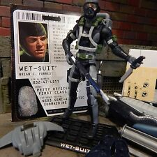 GI JOE ~ 2009 WET SUIT & DRAGONFISH  ~100% complete with UNUSED stickers TARGET