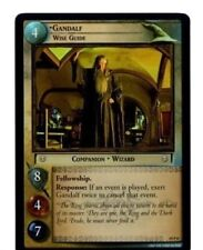 LORD OF THE RINGS LOTR  AE AGES END 19P8 GANDALF, WISE GUIDE CARD CCG