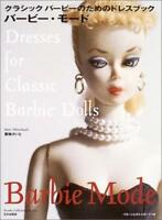 Barbie mode dress book for the classic Barbie Book USED Japan