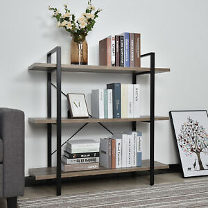Bookcase, 3 tiers, 42*12,6*40,4 inches'