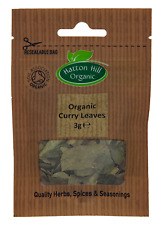 Organic Dried Curry Leaves 3g Certified Organic