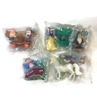 Lot of 5 Vintage Snow White Dwarfs Prince McDonalds Happy Meal Toys 1992