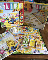 Hasbro Game of Life Junior Family Board Game Christmas Game Complete Checked VGC