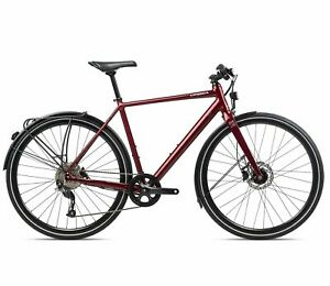 Orbea Carpe 15 Large Size Red 9 Speed Lightweight City Bike. Disc Brakes NEW
