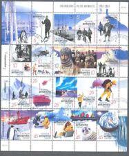 Australian Antarctic Territory-Exploration Sheet Fine Used CTO (132 A (2001)