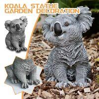 Garden Statue Outdoor Decor,Koala-Statue,Naughty Sculpture Yard Outdoor Statue