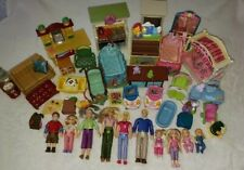 Loving Family Fisher Price Grandma Dolls Accessories Furniture Very Good Lot
