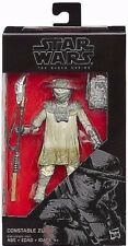 DISNEY STAR WARS THE BLACK SERIES CONSTABLE ZUVIO WITH 2 ACCESSORIES