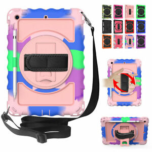 For iPad 10.2 8th 7th 9.7 6th 5th Generation Shockproof Rugged Tablet Case Cover