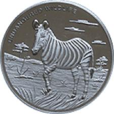 Congo - 10 Franc Zebra