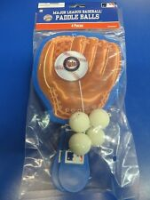 Minnesota Twins MLB Pro Baseball Glove Sports Party Favor Toy Paddle Ball Games