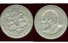 KENYA 50 cent 1968