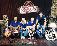 Auction Kings x4 cast signed 8x10 promo photo / autograph Gallery 63