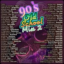 DJ KENNY 90'S OLD SCHOOL MIX VOL 2 MIX CD
