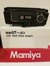 Mamiya RB PRO-SD 120 6x7 FILM INSERT ((( NEW IN PROTECTIVE CASE AND BOX )))