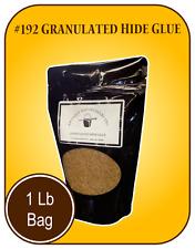 1 Pd Granulated Hide Glue - 192 gr Strength - air tight resealable bag