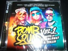 Bomb Squad Vol 1 Mixed By Bombs Away & Tenzin (Australia) 2 CD – New