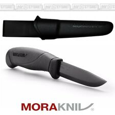 KNIFE COLTELLO MORA MORAKNIV COMPANION BLACK BLADE CACCIA PESCA SURVIVOR CAMPING