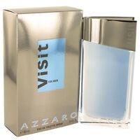 Azzaro Visit Eau de Toilette Spray 100 ml Neuf et emballé sous Blister !!