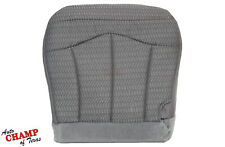 1999-2000 Ford F-150 XLT SPORT F150 STX-Driver Side Bottom Cloth Seat Cover Gray