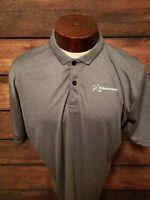 Prodigy Disc Golf Mens XL Extra Large Gray Short Sleeve Golf Polo Shirt NWOT...