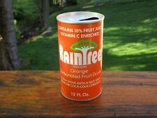 Raintree Orange by Coca - Cola Pull Top Soda Can ( SWEET)