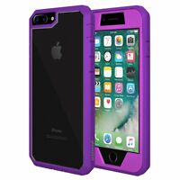 Full Body Hybrid TPU Rugged Shockproof Hard Case Cover For Apple iPhone 7/7 Plus